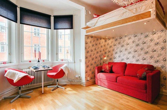 Studio Apartment Loft Bed maximizing your space in a studio apartment
