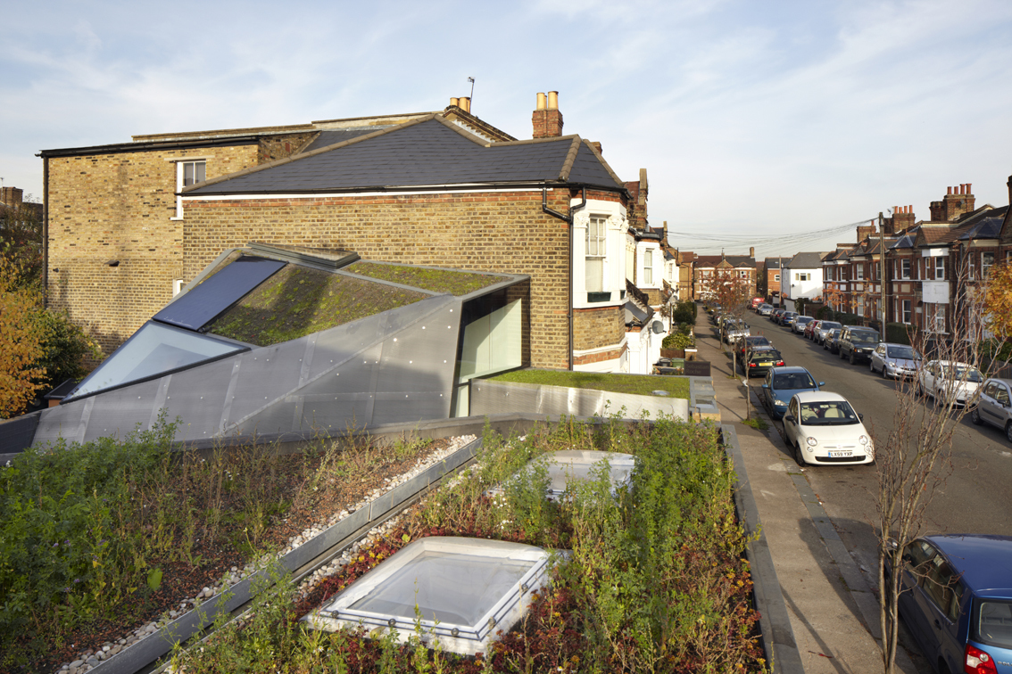 Perfect Sustainable Office Extension With Out Of The Box Features For A London Home Nice Ideas
