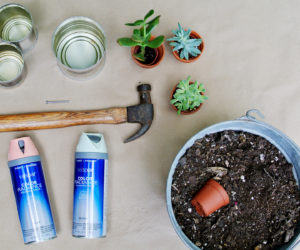 Easy DIY Craft Tin Can Planters