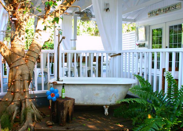 Beach Deck Decorating Ideas