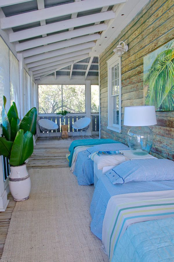 Cozy Sleeping Porches For Perfectly Relaxing Summer