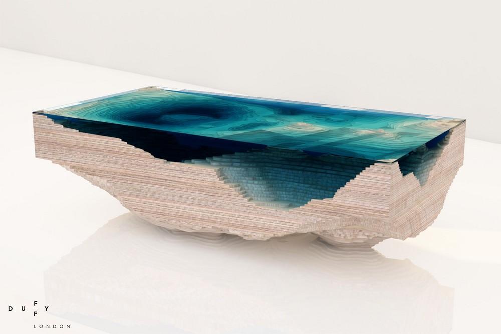 Sea Replicated In Modern Furniture