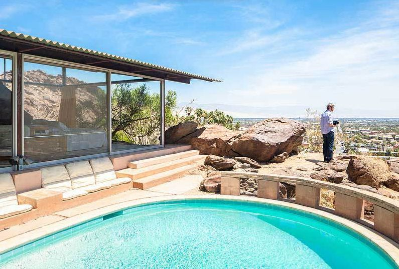 Albert Frey S Palm Springs House Simply Disappears Into