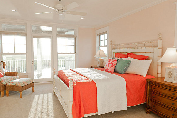 coral color bedroom serene coral combinations mint grey amp 11265