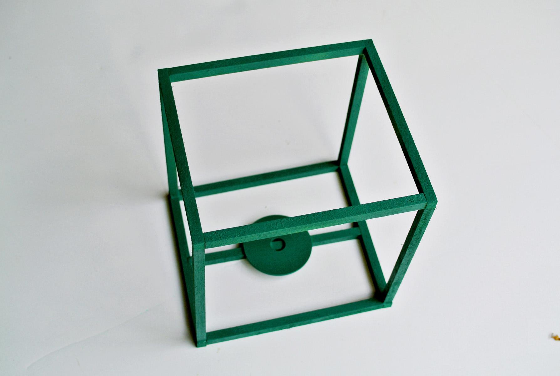 DIY cube lantern