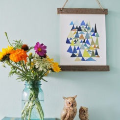 Wooden Hanging Wall Art  – Rustic Touch