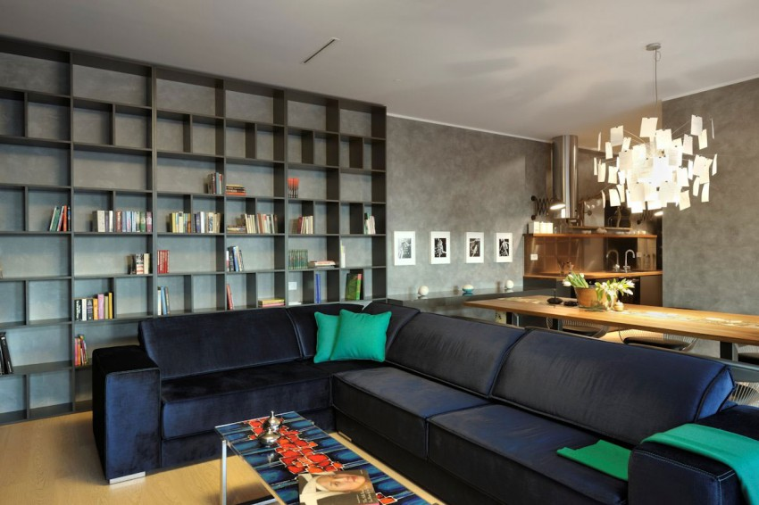 Model apartment in ljubljana serves as inspiration with for Living in a model apartment