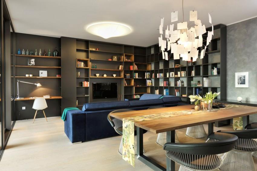 model apartment in ljubljana serves as inspiration with its artistic rh homedit com