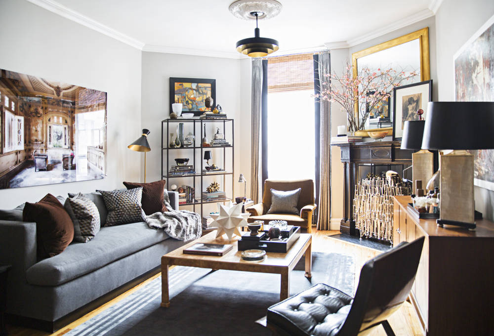 Historic One Bedroom Apartment Gets A Metropolitan New Look By Ron Marvin