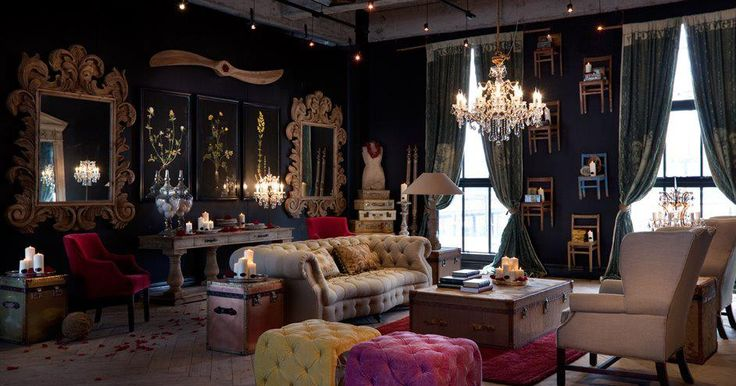 21 cool tips to steampunk your home Victorian living room decorating ideas with pics