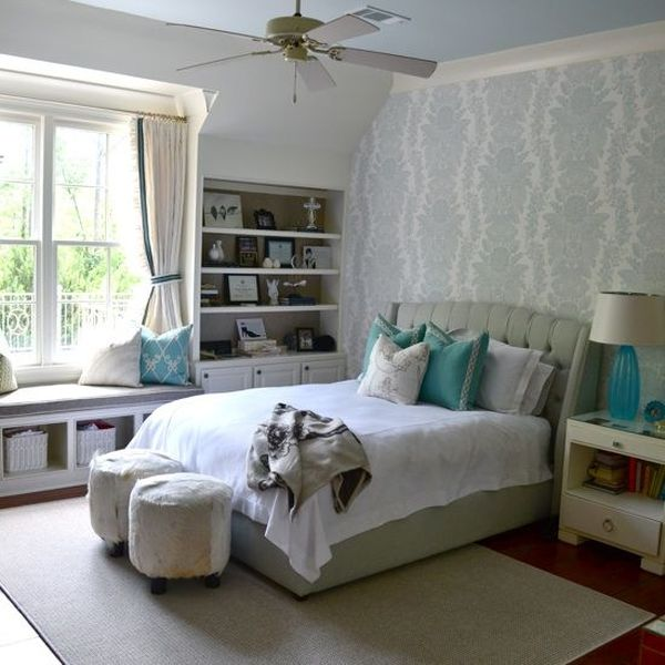 Use Wallpaper. 25 Tips for Decorating a Teenager s Bedroom