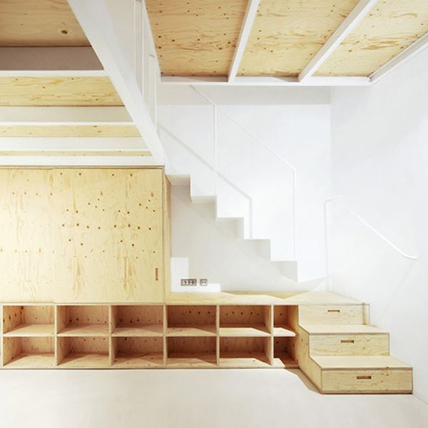 Incroyable Compact Stairs U2013 The First Step Towards A Happy Tiny Home