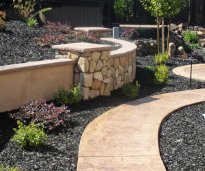 Wonderful Use Rocks To Transform Your Plain And Boring Backyard Into A Beautiful And  Relaxing Oasis. Use Their Sculptural Beauty To Create Eye Catching Designs  And ...