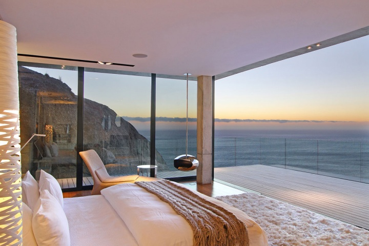 Villa Built Into The Mountain With Full Ocean Views From