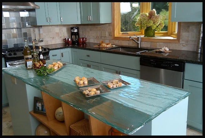 Bio-Glass Kitchen Countertops. View in gallery. View in gallery