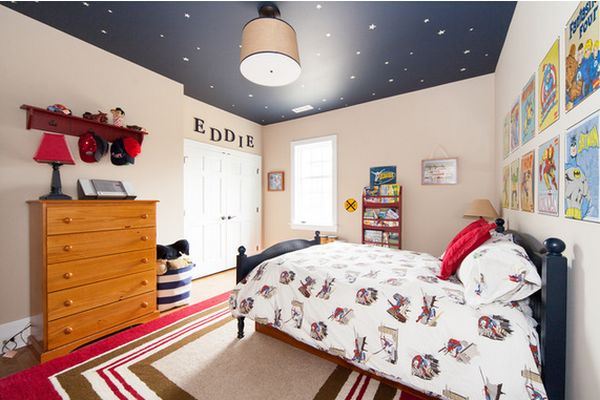 21 Cool Ceiling Designs That Turn Kids Bedrooms Into