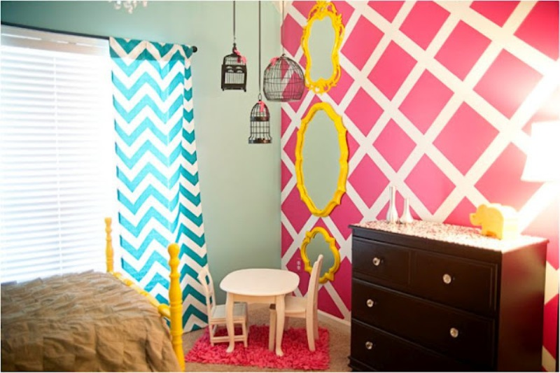 25 tips for decorating a teenager s bedroom - Colorful teen bedroom designs ...
