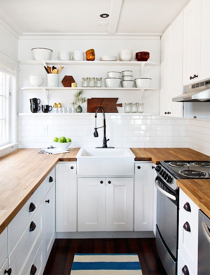 Butcher Block Kitchen Countertops.