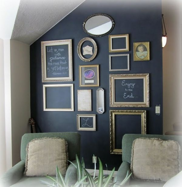 Simplicity And Beyond U2013 How You Can Use Empty Frames As Wall Decor