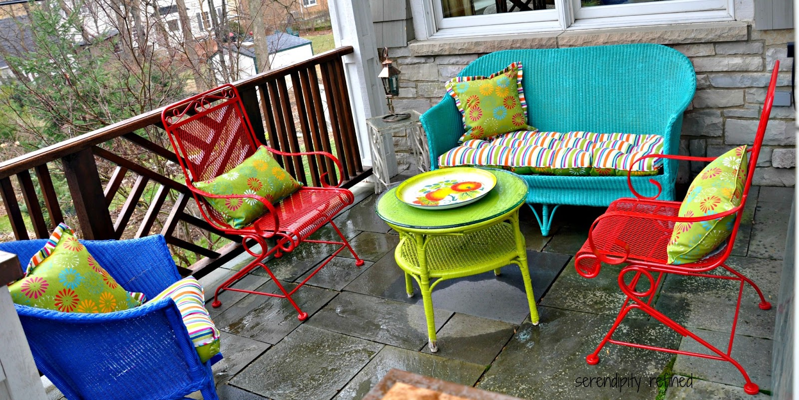 Furnish The Patio