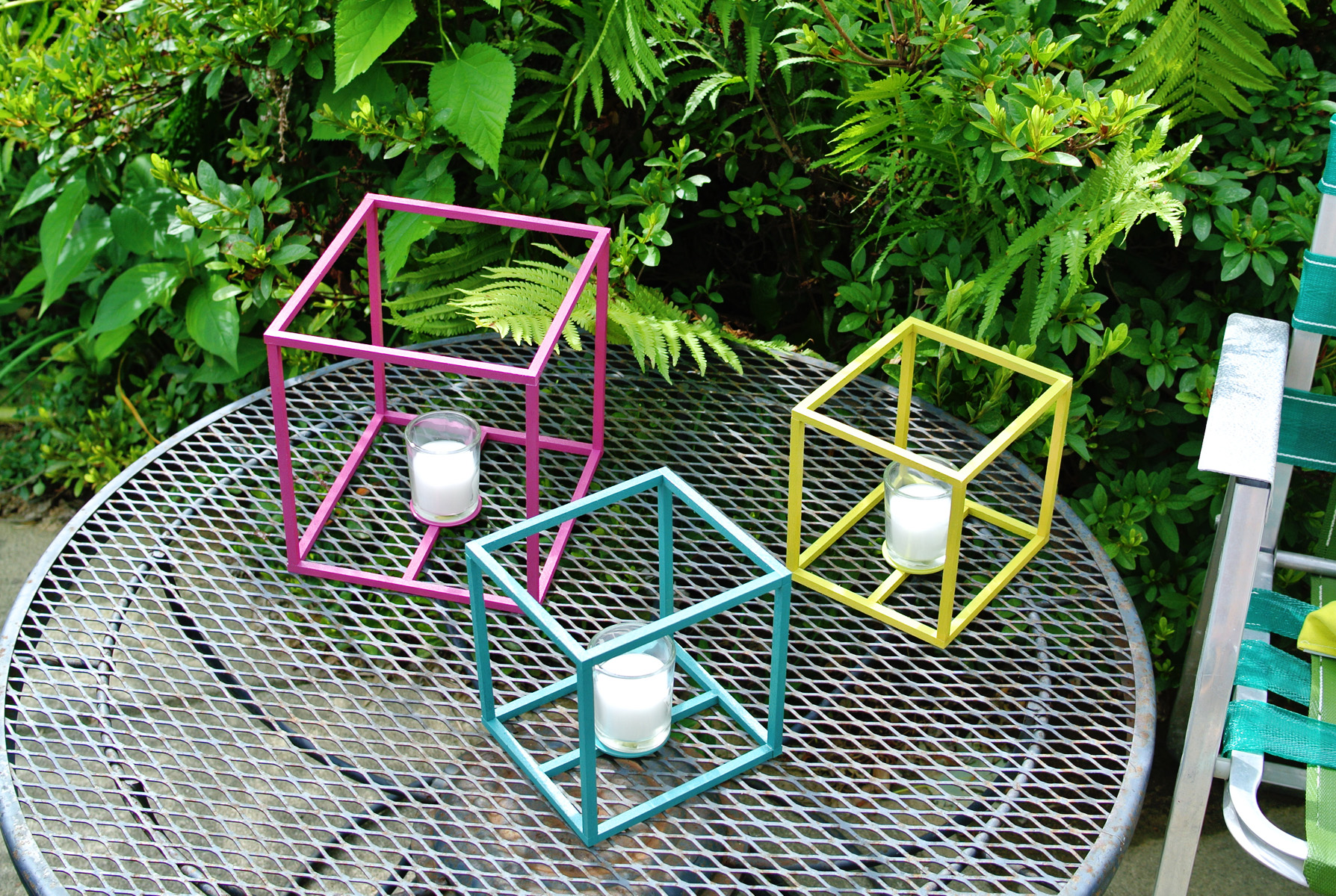 cube lantern how to