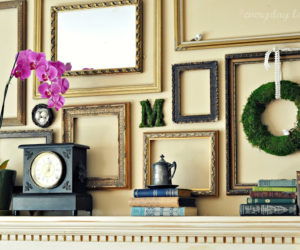 Simplicity And Beyond – How You Can Use Empty Frames As Wall Decor