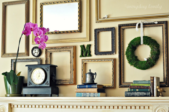 Charmant Simplicity And Beyond U2013 How You Can Use Empty Frames As Wall Decor
