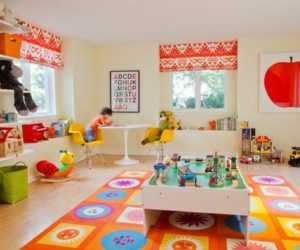 Colorful Playroom Design Ideas