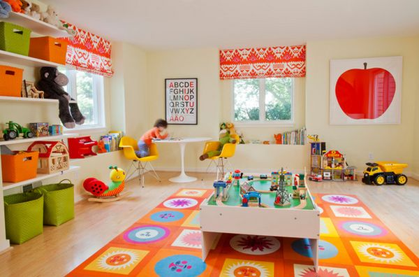 High Quality Fun Design Ideas To Make A Playroom More Exciting