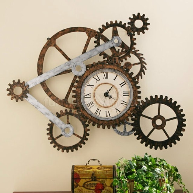 Designer Wall Decor 21 cool tips to steampunk your home