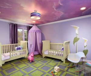 21 Cool Ceiling Designs That Turn Kids' Bedrooms Into Fantasy Land