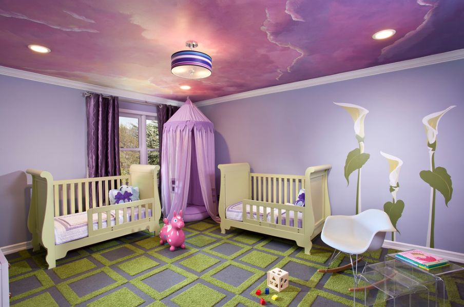 21 Cool Ceiling Designs That Turn Kids\' Bedrooms Into Fantasy Land