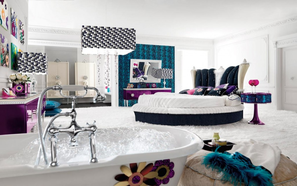 Creative Bedroom Ideas For Teenage Girls 2 Custom Design