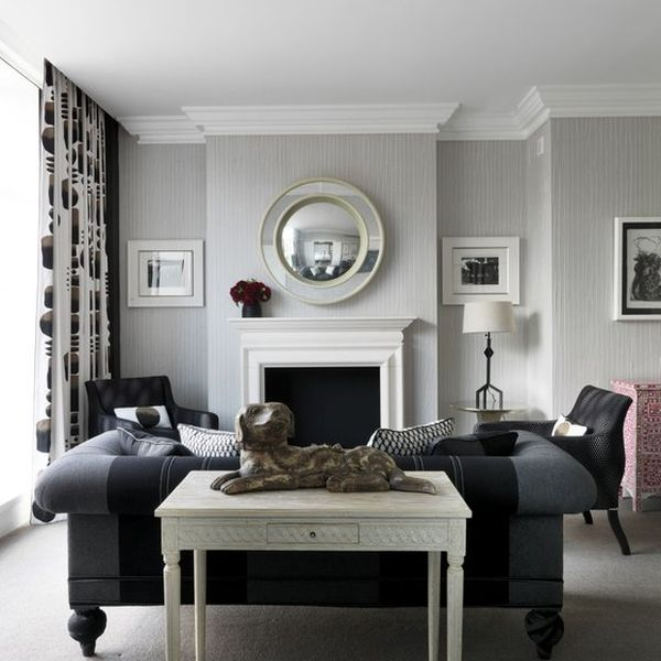 How to decorate in black and white for Black white and grey room decor