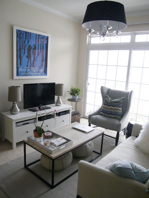 How Do You Decorate A Small Living Room