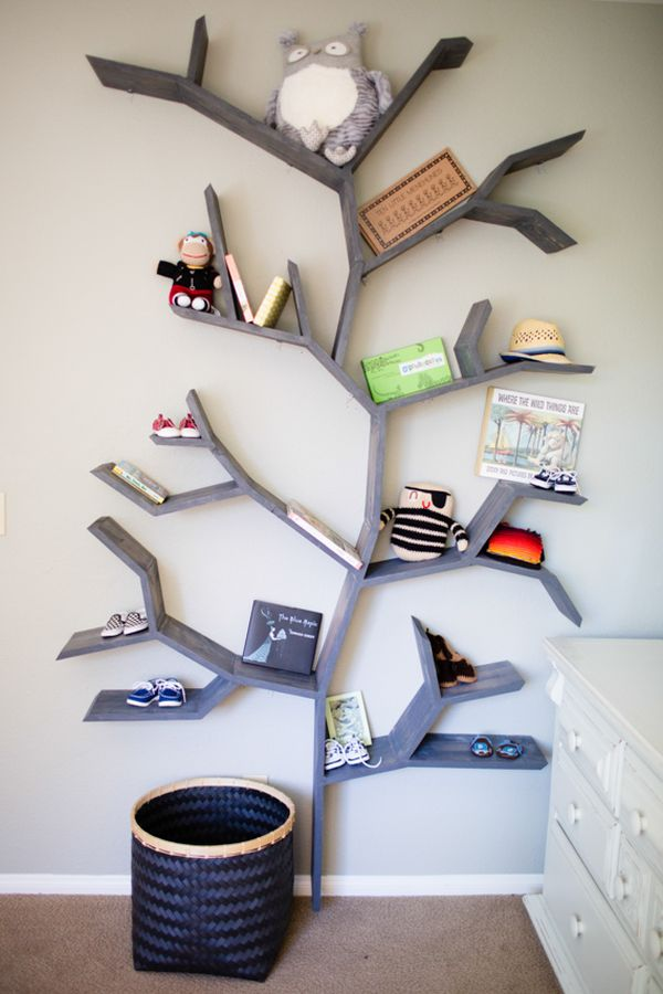 Quirky Living Room Tree