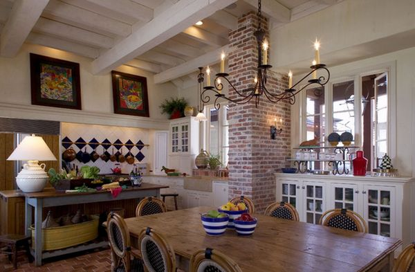 Incorporating Exposed Bricks In Stylish Designs Around The