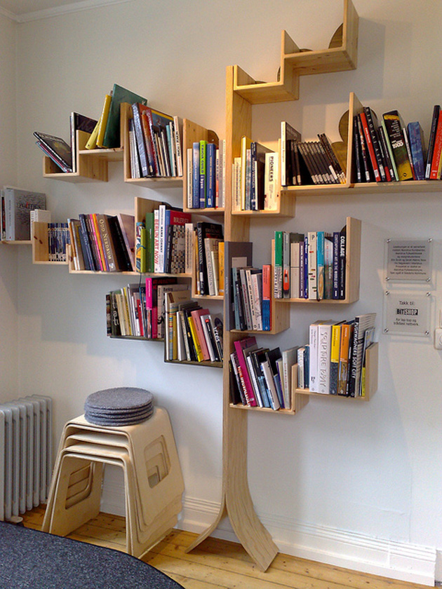 Tree Bookshelves That Creatively Display Collections In Style Ideas