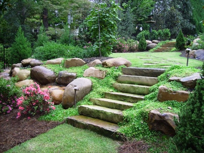 Design Backyard Landscape landscaping ideas designs pictures hgtv 20 Rock Garden Ideas That Will Put Your Backyard On The Map
