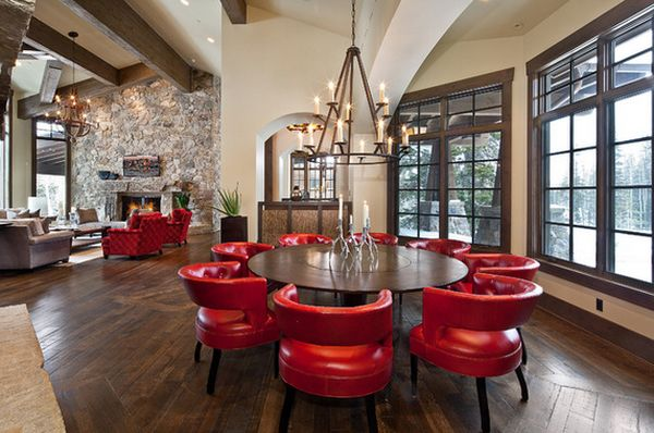 Be Confident With Color How To Integrate Red Chairs In The