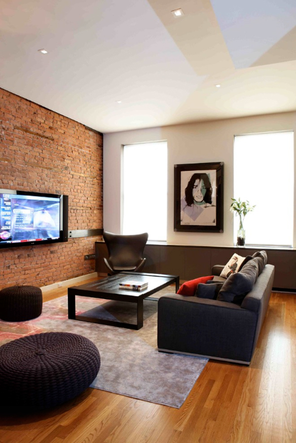 Incorporating Exposed Bricks In Stylish Designs Around The ...