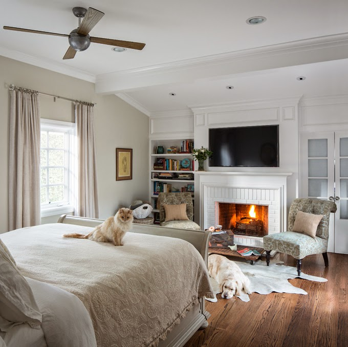 50 master bedroom ideas that go beyond the basics for Master bedroom fireplace