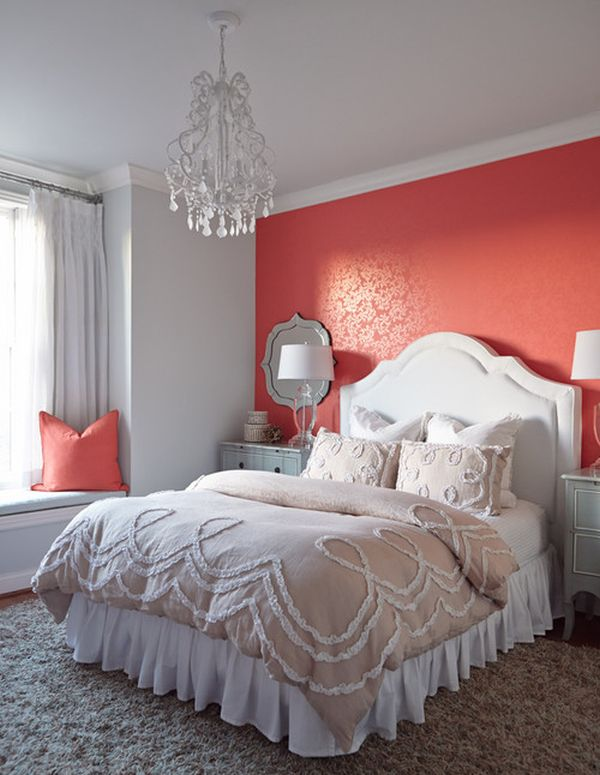 Serene Coral Combinations: Mint, Grey & Cream