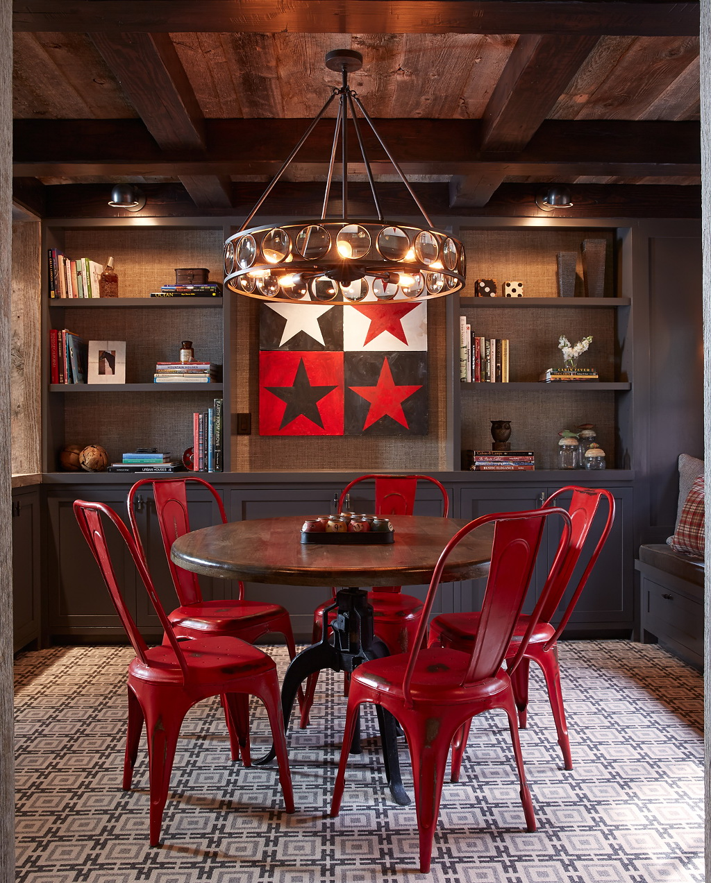 Be Confident With Color U2013 How To Integrate Red Chairs In The Dining Room