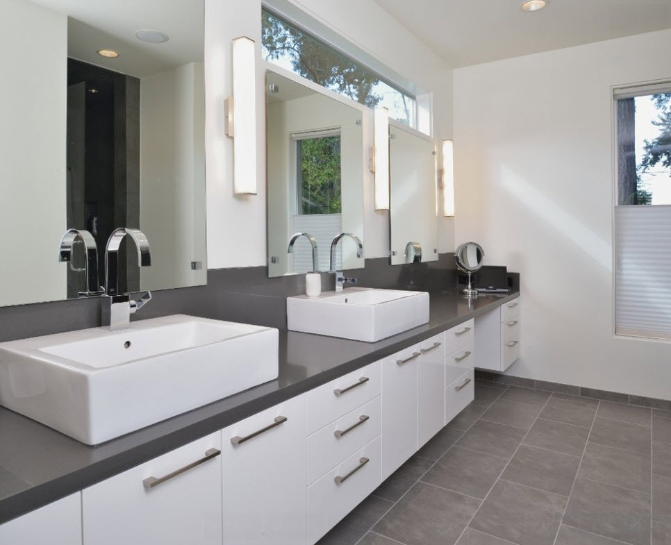 gray bathroom how to use gray around the house without it look boring 6448