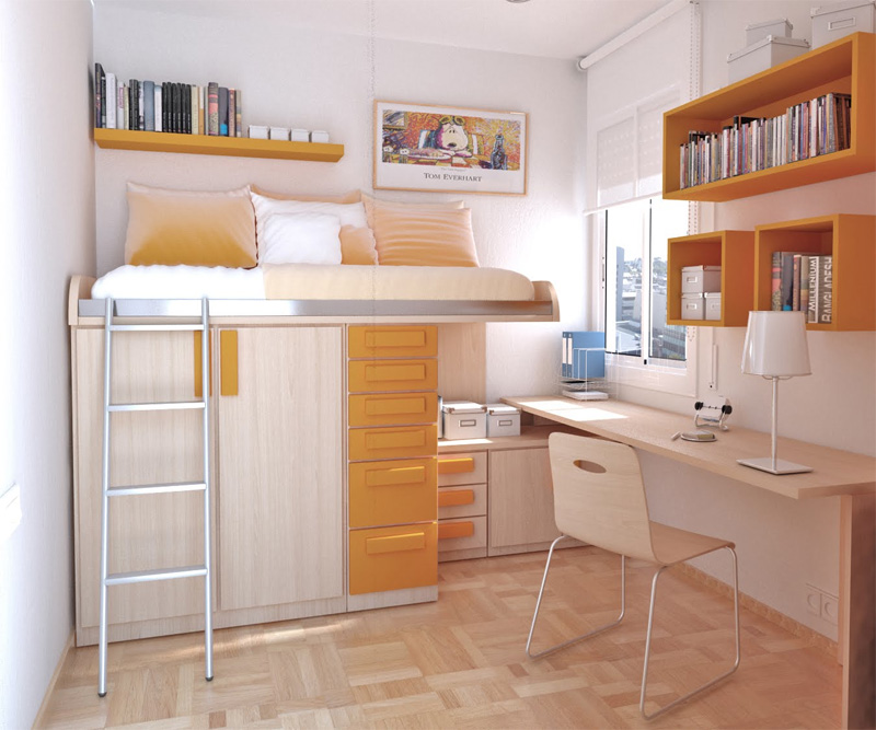 4  Provide Plenty of Shelving. 25 Tips for Decorating a Teenager s Bedroom