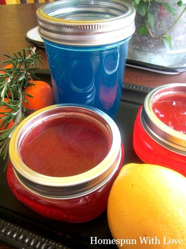 3. Homemade Jelly Air Freshener.