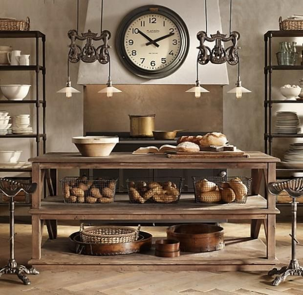 1 use muted neutral colors - Steampunk Interior Design Ideas