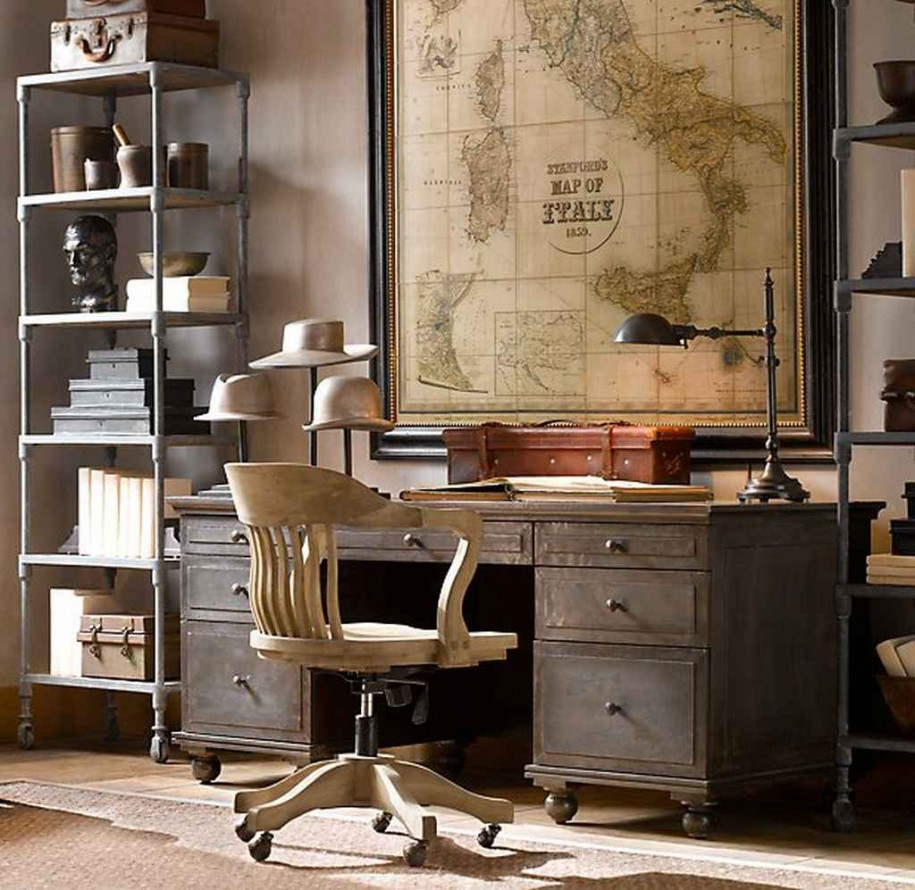 Steampunk Home Decorating Ideas Part - 46: 4. Decorate With Old Maps