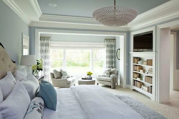 Serene Pastels In The Bedroom.